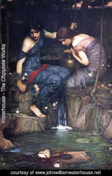 Waterhouse - Nymphs finding the Head of Orpheus (or Women with Water Jugs)