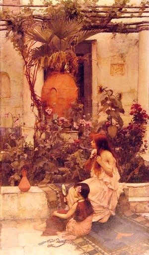 Waterhouse - At Capri (or Alfresco Toilet at Capri)