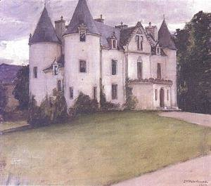 Waterhouse - A Scottish Baronial House  1907