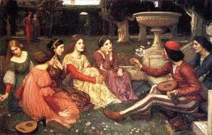 Waterhouse - A Tale from the Decameron 1916