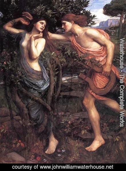 Waterhouse - Apollo and Daphne  1908