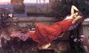 Waterhouse - Ariadne  1898