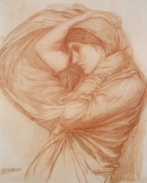 Waterhouse - Boreas study  1904