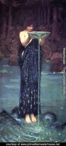 Waterhouse - Circe Invidiosa  1892