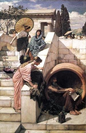 Waterhouse - Diogenes  1882