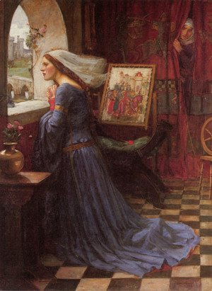 Waterhouse - Fair Rosamund  1917