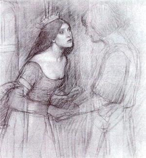 Waterhouse - Female Study  1894