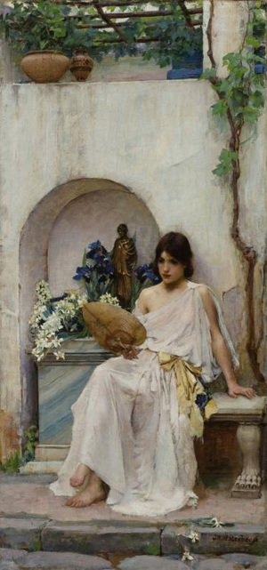 Waterhouse - Flora  1891
