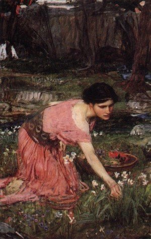 Waterhouse - Flora  1890