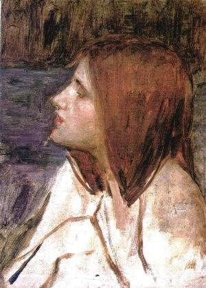 Head of a Girl  1896