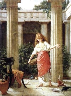 Waterhouse - In the Peristyle  1874