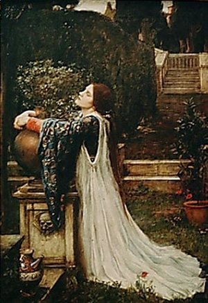 Waterhouse - Isabella and the Pot of Basil  1907