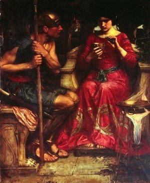 Waterhouse - Jason and Medea (1907