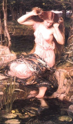 Waterhouse - Lamia  1909