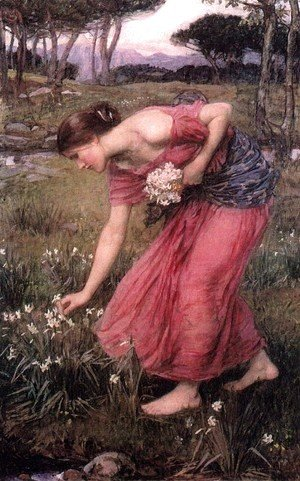 Waterhouse - Narcissus  1912