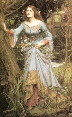 Waterhouse - Ophelia  1910