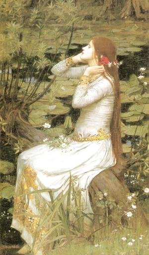 Waterhouse - Ophelia  1894