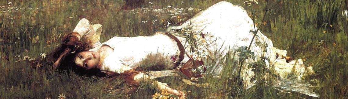 Waterhouse - Ophelia  1889