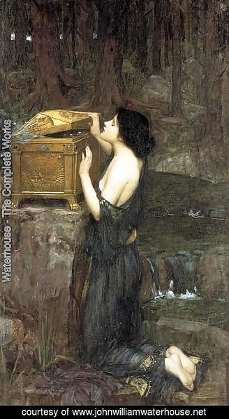 Waterhouse - Pandora  1896