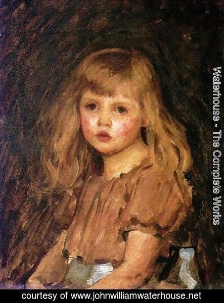 Waterhouse - Portrait of a Girl
