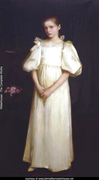 Phyllis, younger daughter of E A Waterlow, Esq  1895
