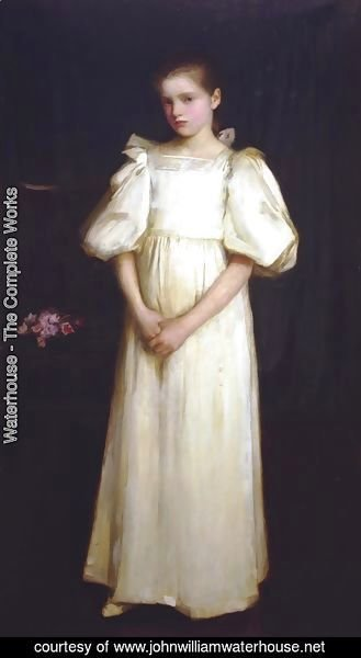 Waterhouse - Phyllis, younger daughter of E A Waterlow, Esq  1895