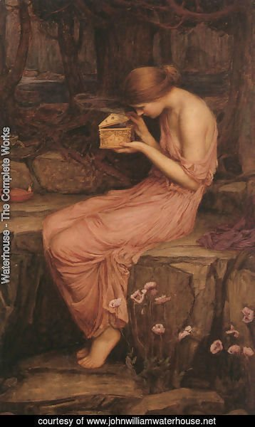 Psyche Opening the Golden Box  1903