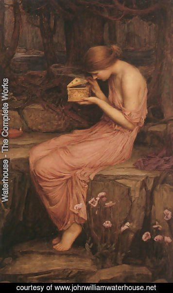 Waterhouse - Psyche Opening the Golden Box  1903