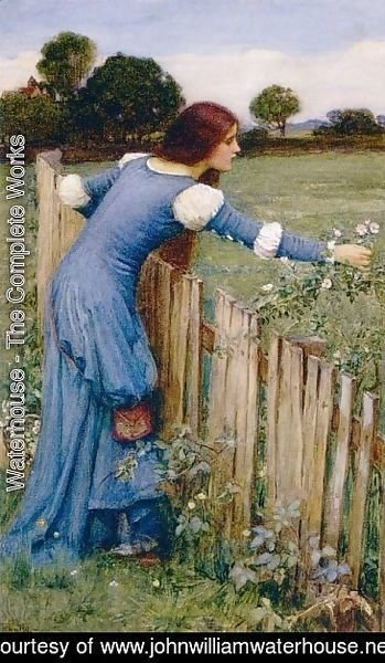 Spring  The Flower Picker 1900