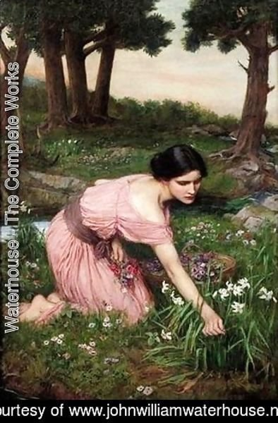 Waterhouse - Spring Spreads One Green Lap of Flowers 1910