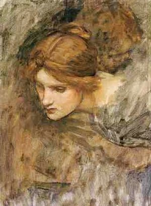 Waterhouse - Study for the Head of Venus