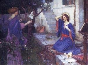 Waterhouse - The Annunciation  1914