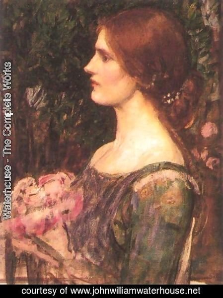 Waterhouse - The Bouquet study 1908