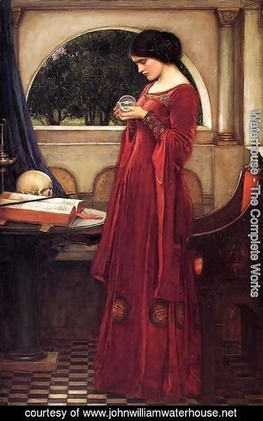 Waterhouse - The Crystal Ball  1902