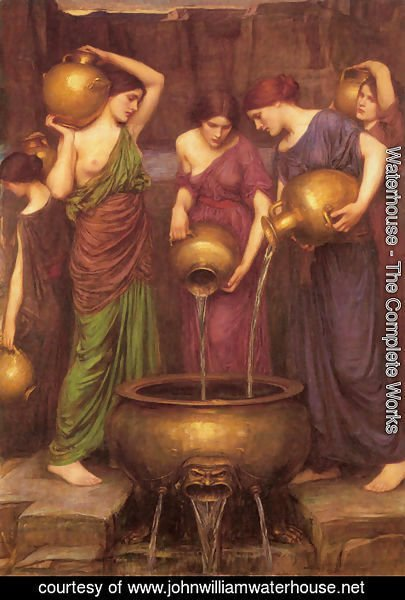 Waterhouse - The Danaides  1904