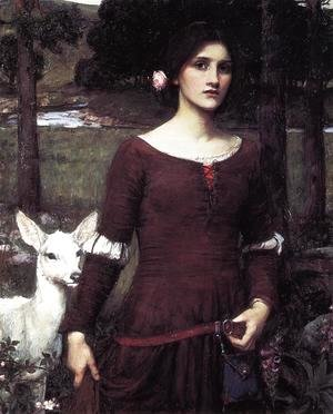 Waterhouse - The Lady Clare 1900