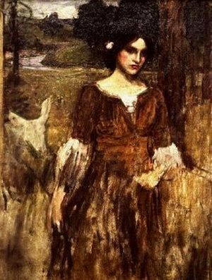 Waterhouse - The Lady Clare  1900 2