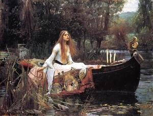 Waterhouse - The Lady of Shalott  1888