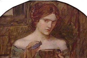 Waterhouse - The Love Philtre study  1914