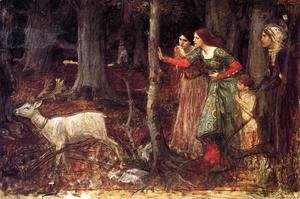 Waterhouse - The Mystic Wood  1914-17