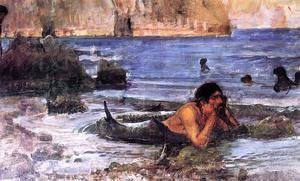 Waterhouse - The Merman 1892