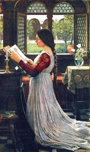 Waterhouse - The Missal  1902