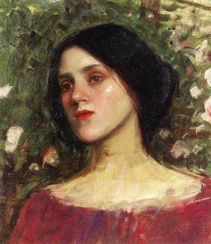 Waterhouse - The Rose Bower  1910