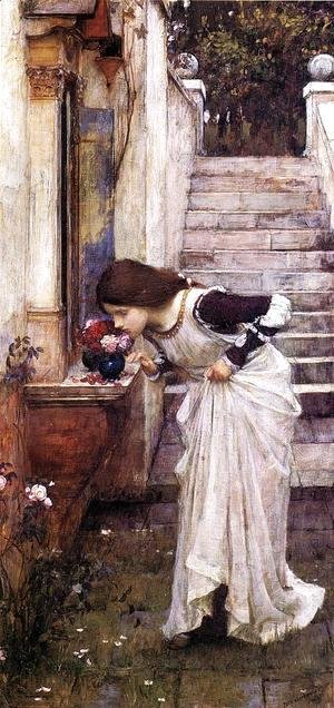 Waterhouse - The Shrine  1895