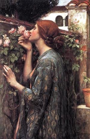 Waterhouse - The Soul of the Rose  1908