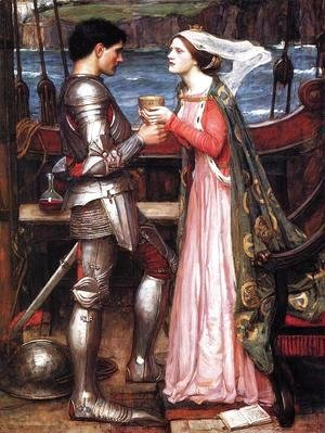 Waterhouse - Tristram and Isolde  1916 (2)
