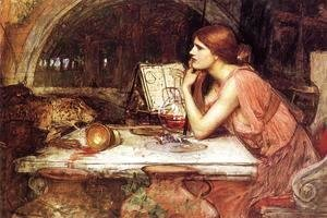 Waterhouse - Sketch of Circe