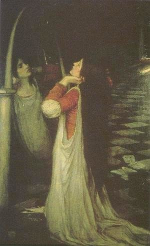 Waterhouse - Study for Mariana in the South