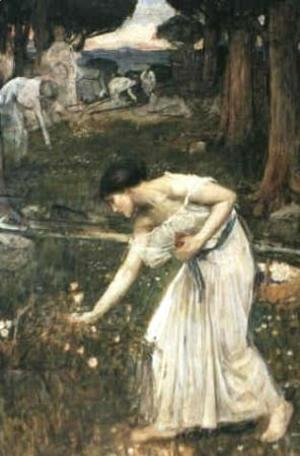 Waterhouse - Study for Narcissus