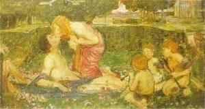 Waterhouse - Study for The Awakening of Adonis